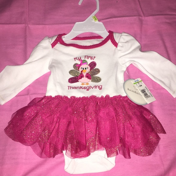 5f418b666 Koala Kids One Pieces | Baby Girl First Thanksgiving Outfit | Poshmark